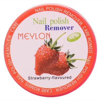 meylon paris nail polish remover strawberry