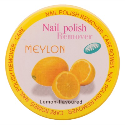 meylon paris nail polish remover lemon