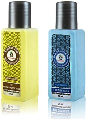 Bloomsberry Nail Polish Remover Combo- Season's Greetings