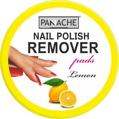 Panache Nail Polish Remover Pads, Lemon(30 g)