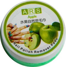 Brndey Ars Nail Polish Remover Pads In Apple Fragrance