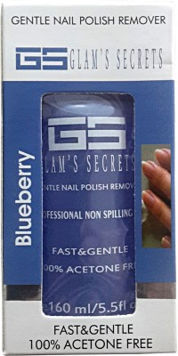 Glam's Secret Blueberry Gentle Nail Polish Remover