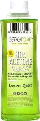 Cero Cerotone LEMON GRASS Perfumed NON ACETONE Nail Polish Remover (ACETONE FREE best for Fragile / Brittle Nails) Moisturisers + Vitamin E