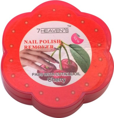 Brndey 7 Heaven's Nail Polish Remover Pads with Cuticle Oil in Cherry