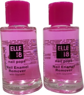 elle 18 Nail Polish remover set of 2