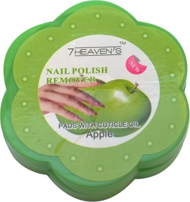 Brndey 7 Heaven's Nail Polish Remover pads with Cuticle oil in Apple