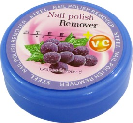 Steel Paris Grape-Nail Polish Remover