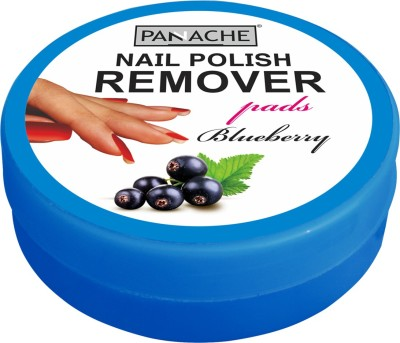 Panache Nail Polish Remover Pads, Blueberry(30 g)
