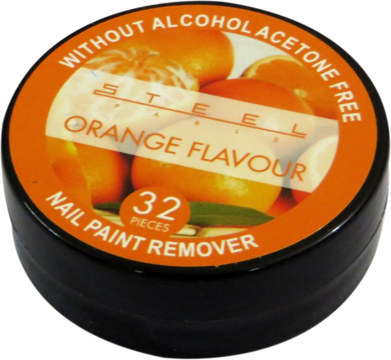 Steel Paris Orange-Nail Polish Remover