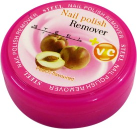 Steel Paris Peach-Nail Polish Remover