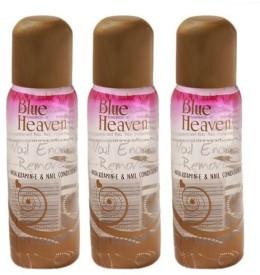 Blue Heaven Nail Polish Remover 100ml( Set of 3 pc)