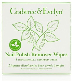 Crabtree & Evelyn Nail Polish Remover Wipes(8 Wipes)
