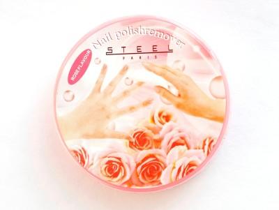Brndey Steel Paris Rose Nail Paint Remover Wipes