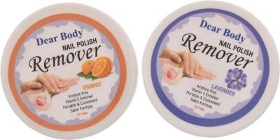 Dear Body Nail Polish Remover Pads (Orange&Lavender)