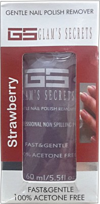 Glam's Secret Strawberry Gentle Nail Polish Remover