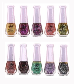 Lady Fashion Wholesale Price Trendy Nail Polish 0303201728 100 ml(Multicolor,)