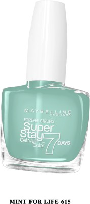 Maybelline SUPER STAY GEL NAIL COLOR 10 ml(MINT FOR LIFE)