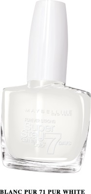 Maybelline Super Stay Gel Nail Color 10 ml(Pur white, 71)