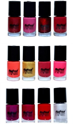 Max Fresh Valueable Nail Polish Combo 202 72 ml