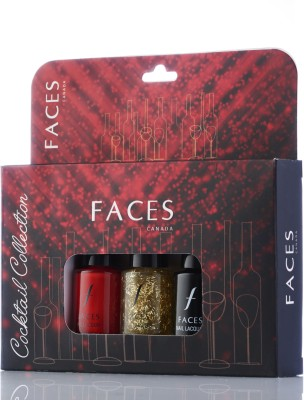 Faces Nail Lacquer Kit Cocktail Collection 18 ml