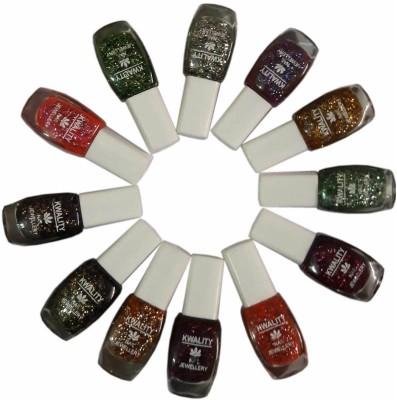 Kwality Nail polish pack of 12 100 ml