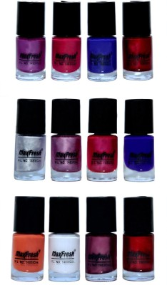 Max Fresh Valueable Nail Polish Combo 204 72 ml