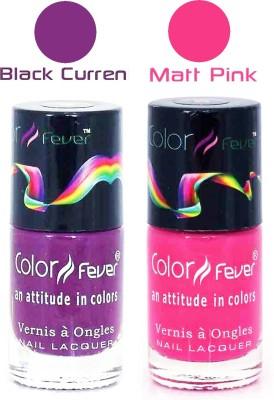 Color Fever Matte Nail Polish Combo 232 18 ml