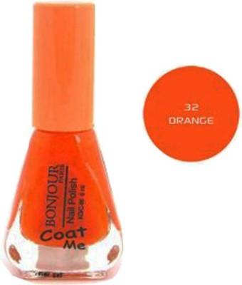 Bonjour Paris Color Cap Nail polish 32 6 ml(Orange)
