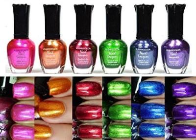 Kleancolor Metallic Colors Set 15 ml