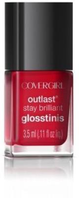 Covergirl Outlast Stay Brilliant Glosstinis Nail Gloss Sangria 810000892 3 ml