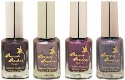 Anna Andre Paris Colorburst 1621 - Set of 4 Nail Polishes 9 ml