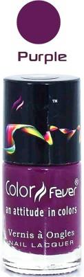Color Fever Purple Matte Nail Polish 102 9 ml