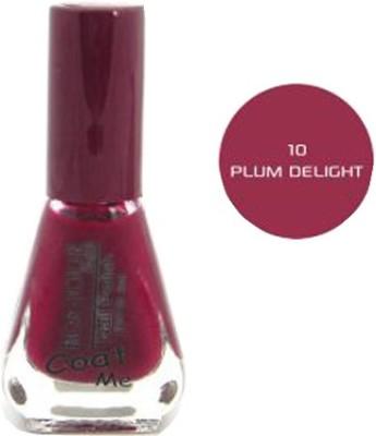 Bonjour Paris Color Cap Nail Polish Plum Delight(6 ml)