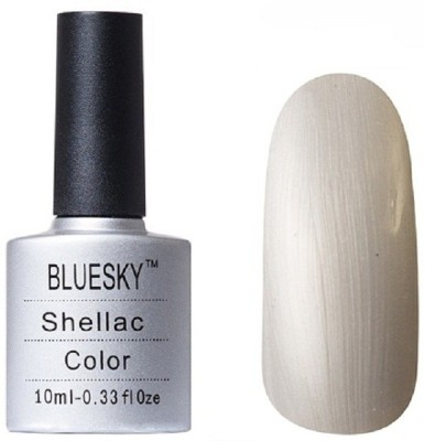 Bluesky Shellac Nail Polish 10 ml(Silver Chrome)