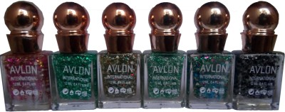 Avlon Glitter Nail Polish A.G.N.P-L6 12 ml