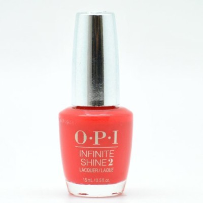 OPI Infinite Shine Gel Effect Polish in Unrepentantly Red 15 ml