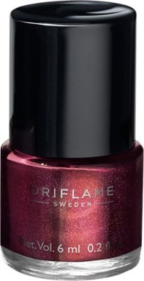 Oriflame Sweden Pure Colour Nail Polish Mini Burgundy Wine 6 ml