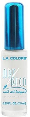 L.A. Colors Art Deco Nail Art White ART DECO 7.5 ml