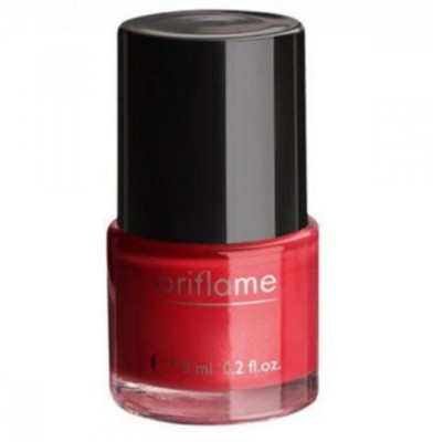 Oriflame Sweden pure Colour Nail Polish 6 ml(Coral Red)