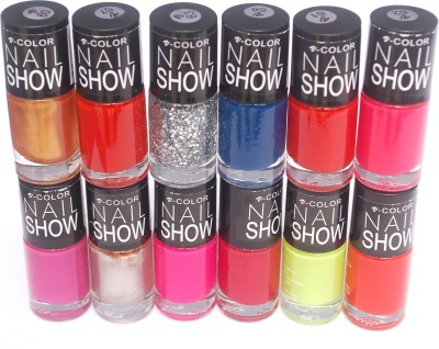 V-Color Nail Show 72 ml(Multicolor Set 9)