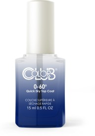 Color Club 0-60 Quick Dry Top Coat 15 ml(Clear)
