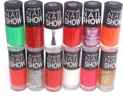 V-Color Nail Show 72 ml(Multicolor Set 18)