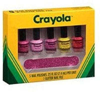 Crayola Glitter Nail File cy-nail-sett 15 ml