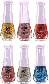 Lady Fashion Nail Polish 2512201641 60 ml(Multicolor,)