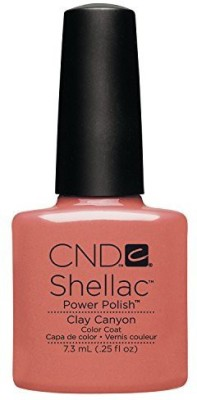 CND Nail Products Cnd Shellac Power Polish Open Road Collection Clay Canyon CNDS0096 7.3 ml