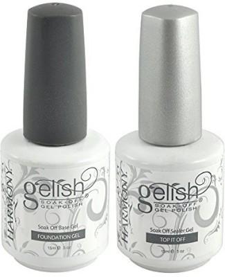 Harmony Gelish Top And Base Set Of Good Deal 15 ml