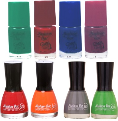 Fashion Bar Neon Shades 241 Nail polishes Combo 56 ml