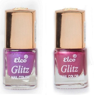 Elco Glitz Premium Nail Enamel-Pack of 2 12 ml