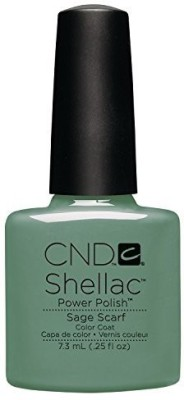 CND Nail Products Cnd Shellac Power Polish Open Road Collection Sage Scarf CNDS0100 7.3 ml