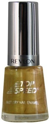 Revlon Top Speed Nail Enamel, Golden 8 ml
